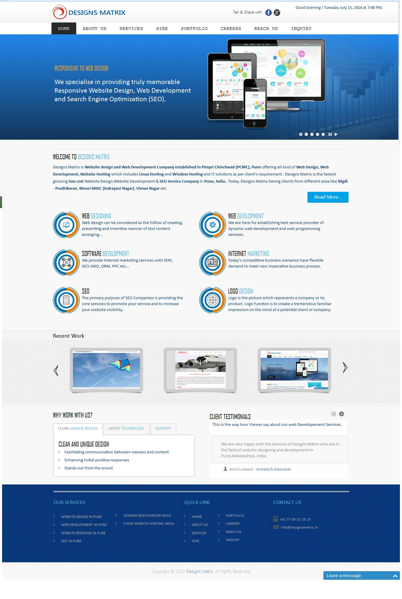 pune website design company