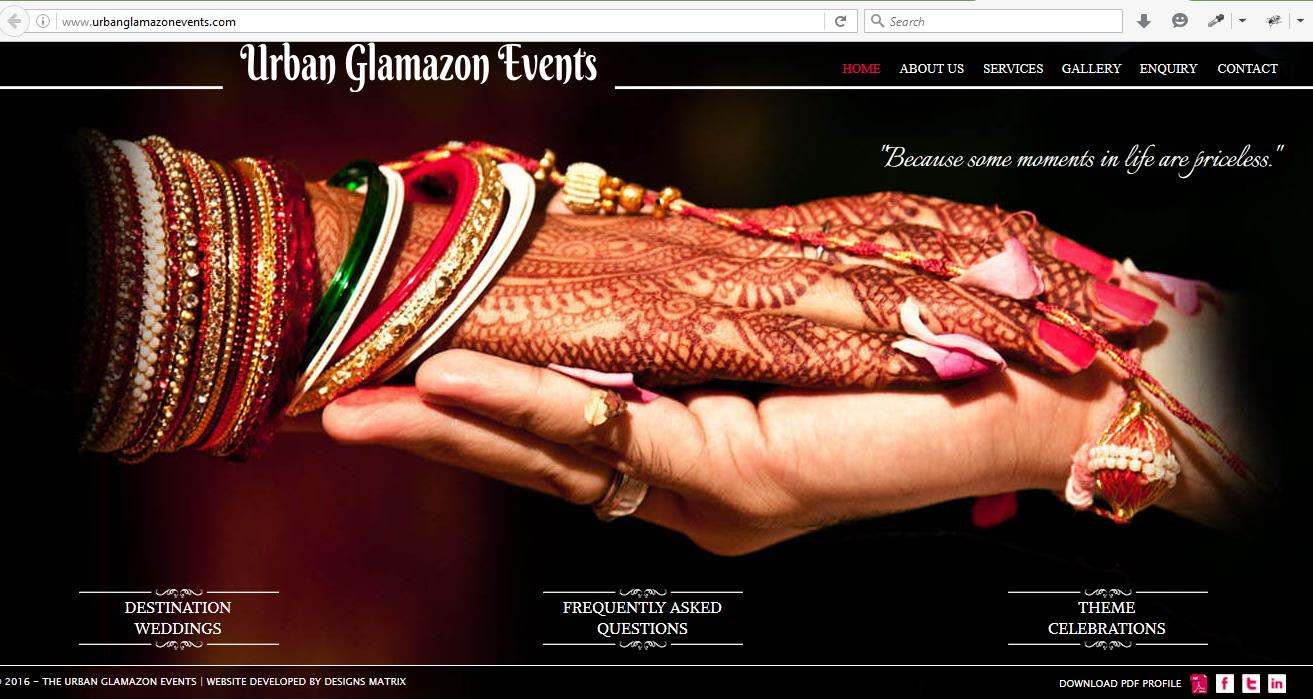wedding website design in pune